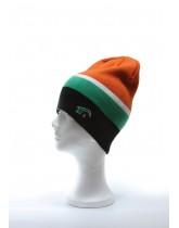 HARRINGTON BLACK / green, white, orange