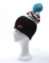 ZWITSERLAND BLACK / white, grey, red